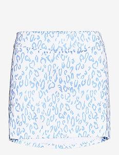Amelie Golf Skirt Print - urheiluhameet - animal blue white