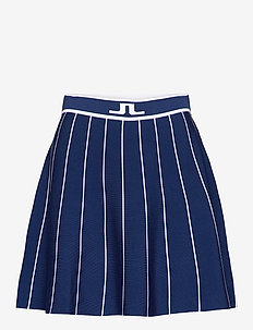 Bay Knitted Golf Skirt - sports skirts - midnight blue