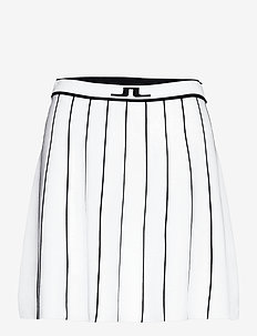 Bay Knitted Golf Skirt - urheiluhameet - white