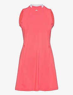 Nena Golf Dress - sports dresses - tropical coral