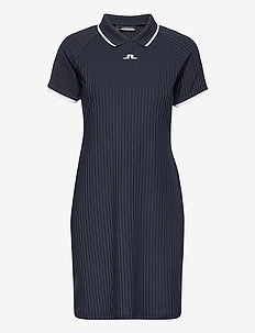 April Golf Dress - t-shirt dresses - jl navy