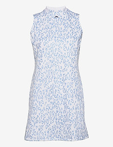 Nena Print Golf Dress - everyday dresses - animal blue white