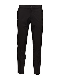 M Ives Reg Fit Micro Stretch - BLACK