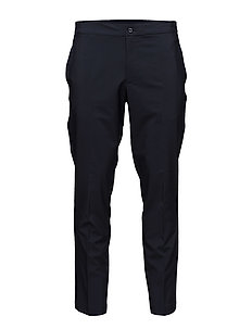 M Ives Reg Fit Micro Stretch - JL NAVY