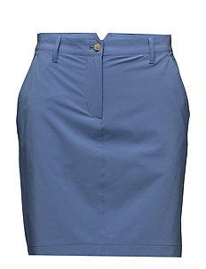 W Allie Skirt Micro Stretch - SILENT BLUE