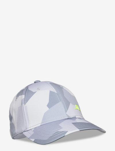 Camou Golf Print Cap - caps - grey camo