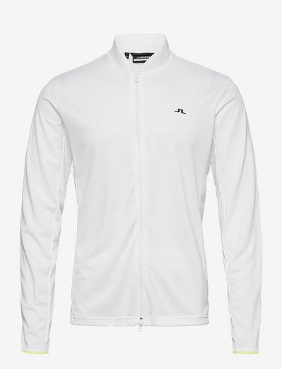 Alex Golf Mid Layer - golfjakker - white