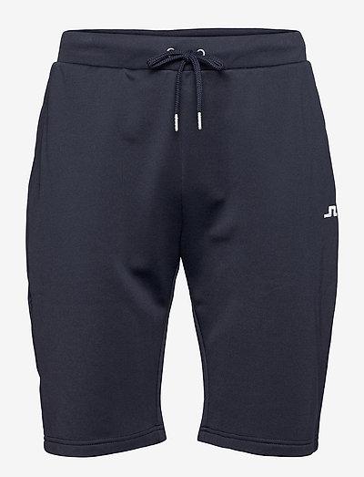 Stretch Fleece Light Shorts - golfshorts - jl navy