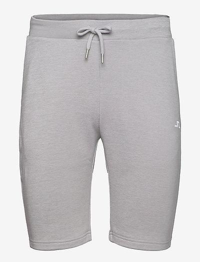 Stretch Fleece Light Shorts - golfshorts - stone grey melange