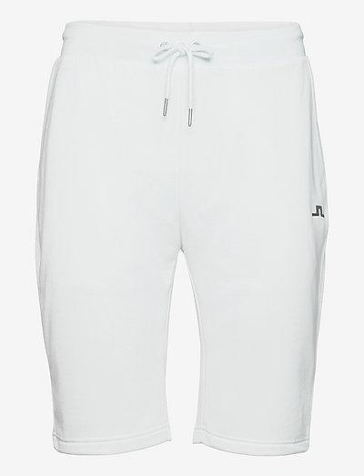 Stretch Fleece Light Shorts - golfshorts - white