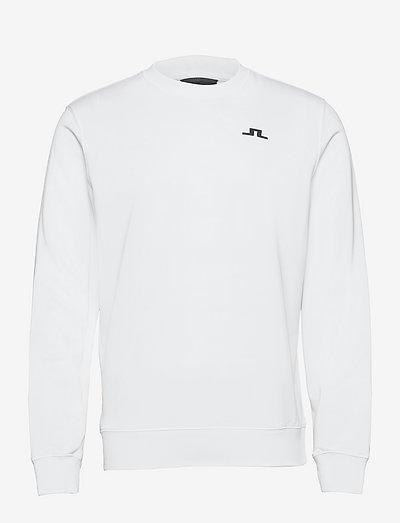 Stretch Fleece Light Crew - overdeler - white