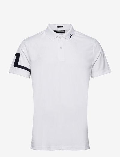 Heath Regular Fit Golf Polo - pik - white