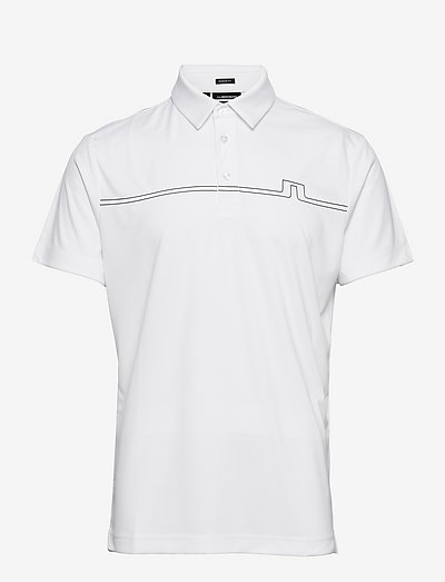 Clay Regular Fit Golf Polo - pik - white