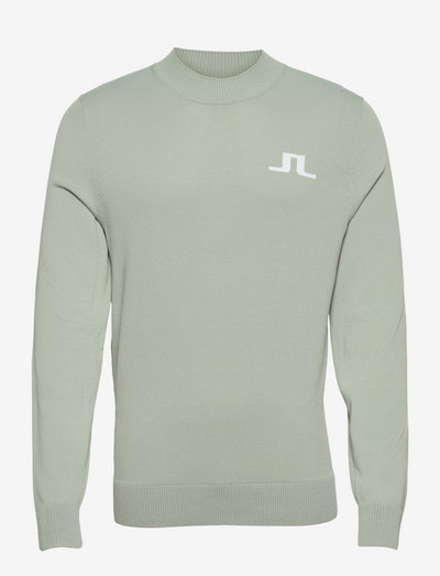Gus Golf Sweater - pik - iceberg green