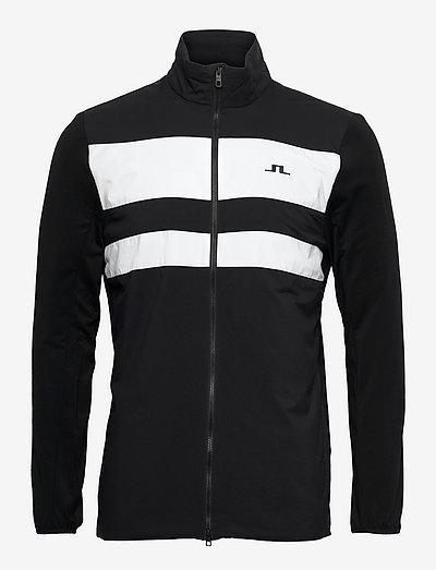 Packlight Hybrid Golf Jacket - golfjakker - black