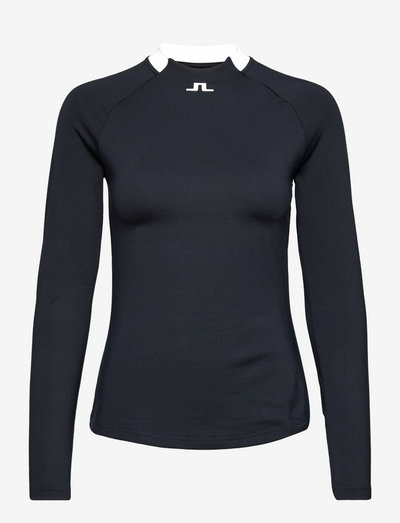Eleonore Long Sleeve Golf Top - topjes met lange mouwen - jl navy
