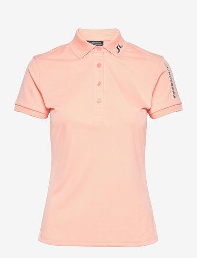 Tour Tech Golf Polo - polo's - pale pink