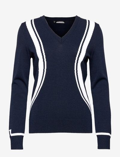 Bianca Golf Sweater - gebreid - jl navy