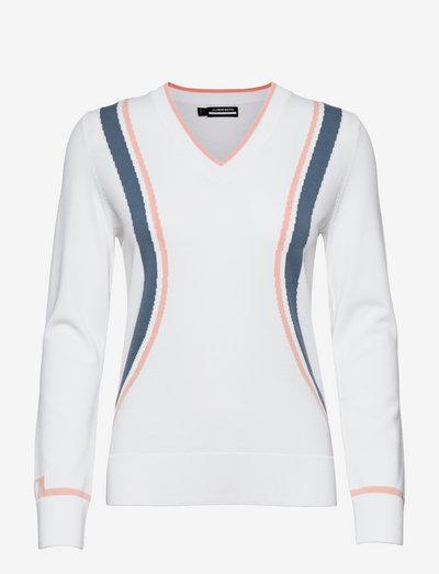 Bianca Golf Sweater - gebreid - white
