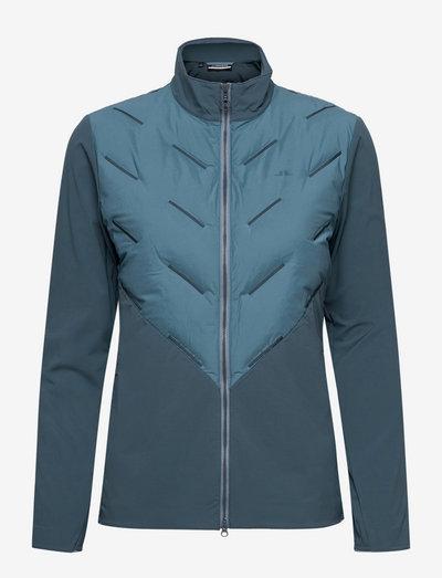 Shield Hybrid Golf Jacket - golf jassen - captains blue