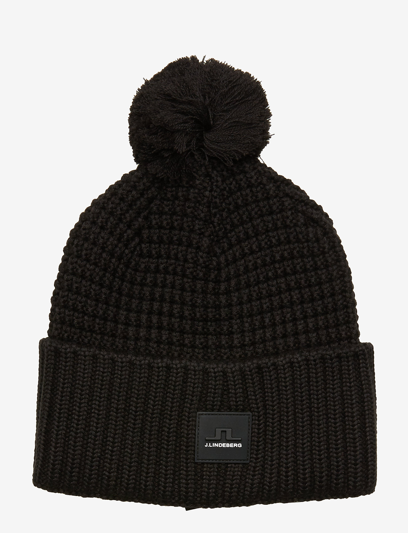 J. Lindeberg Ski - Ball Hat-Wool Blend - pipot - black
