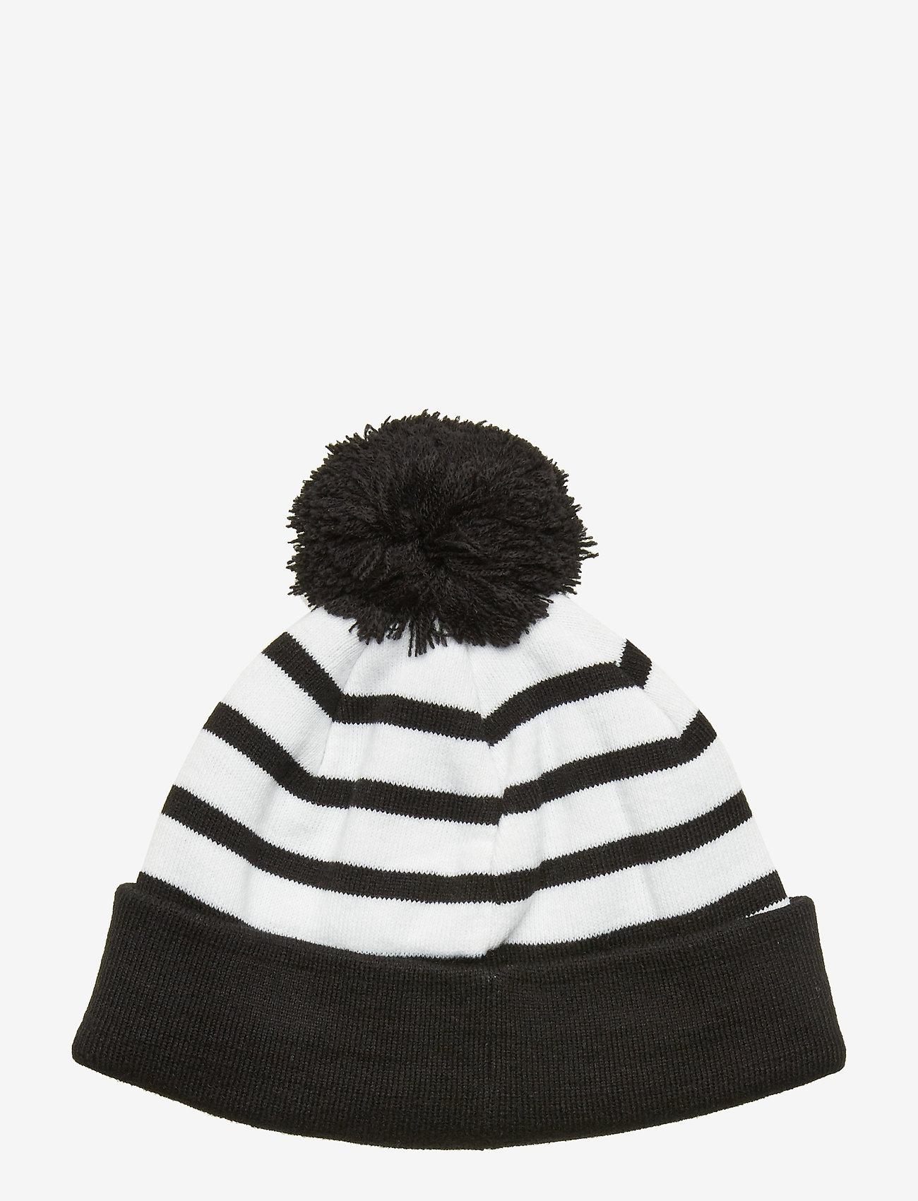 J. Lindeberg Ski - Stripe Ball Beanie-Acrylic - beanies - black - 1