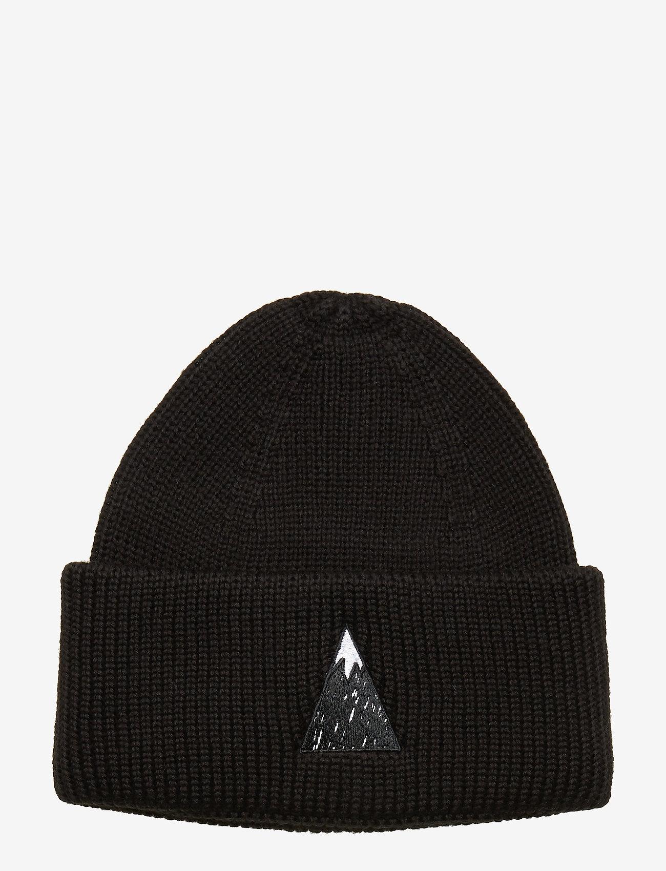 J. Lindeberg Ski - Briggs Hat-Wool Blend - beanies - black - 0