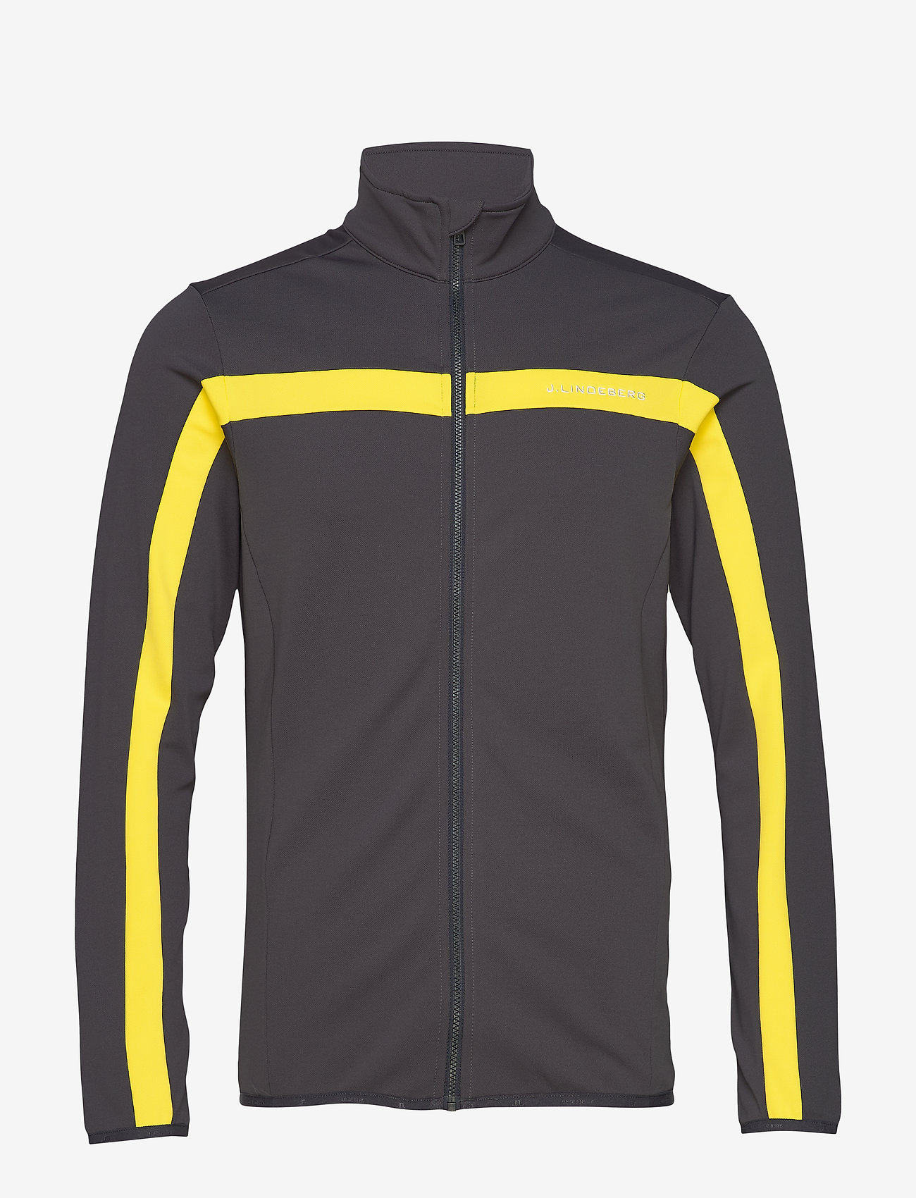 J. Lindeberg Ski - Kimball Jarvis Jacket-Brushed - track jackets - banging yellow