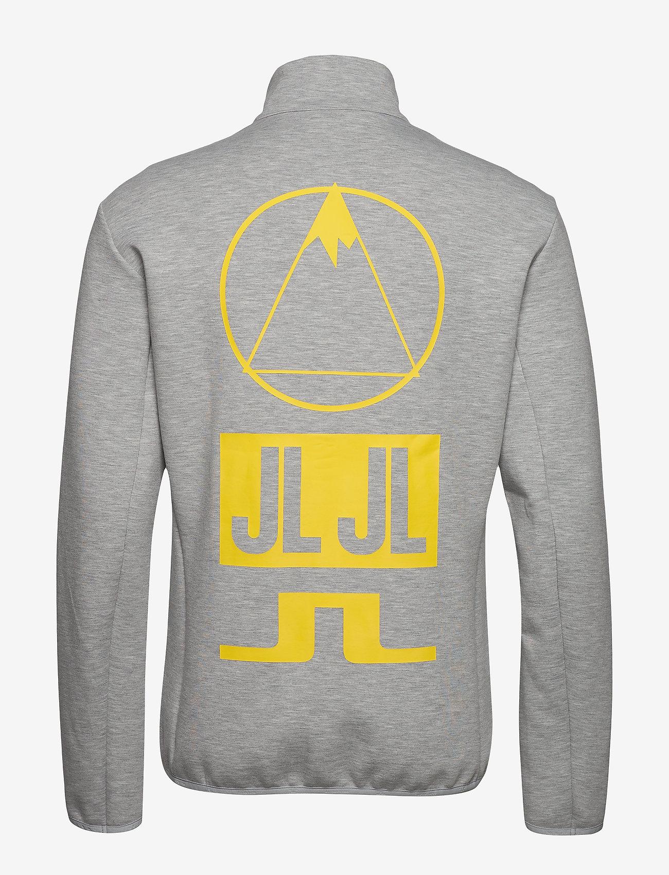 J. Lindeberg Ski - Nigel Mid Jkt Logo Capsule-Tec - overdeler - stone grey melange - 1