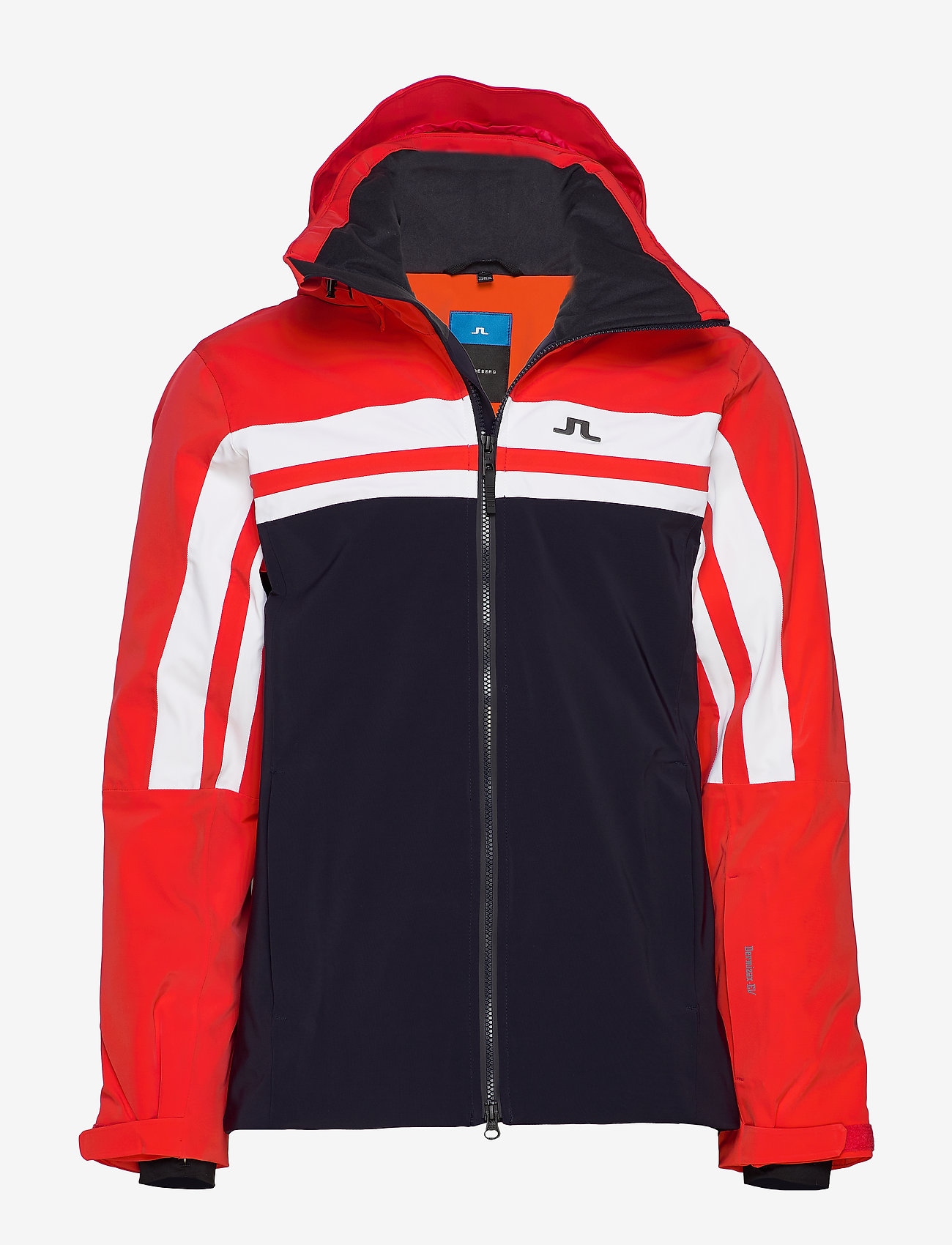 J. Lindeberg Ski - M Hayes Jkt-Dermizax EV 2L - insulated jackets - racing red - 0