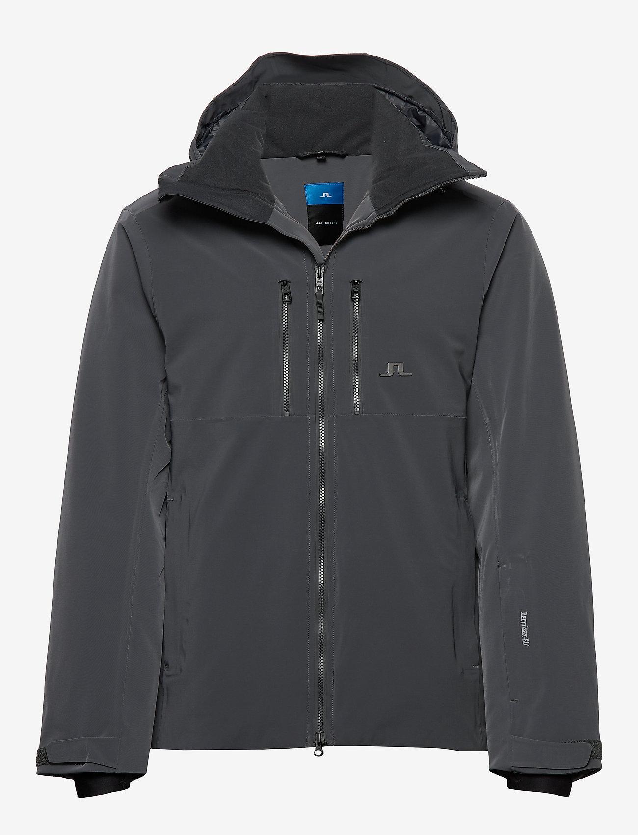 J. Lindeberg Ski - M Watson Jkt-Dermizax EV 2L - insulated jackets - asphalt black - 0