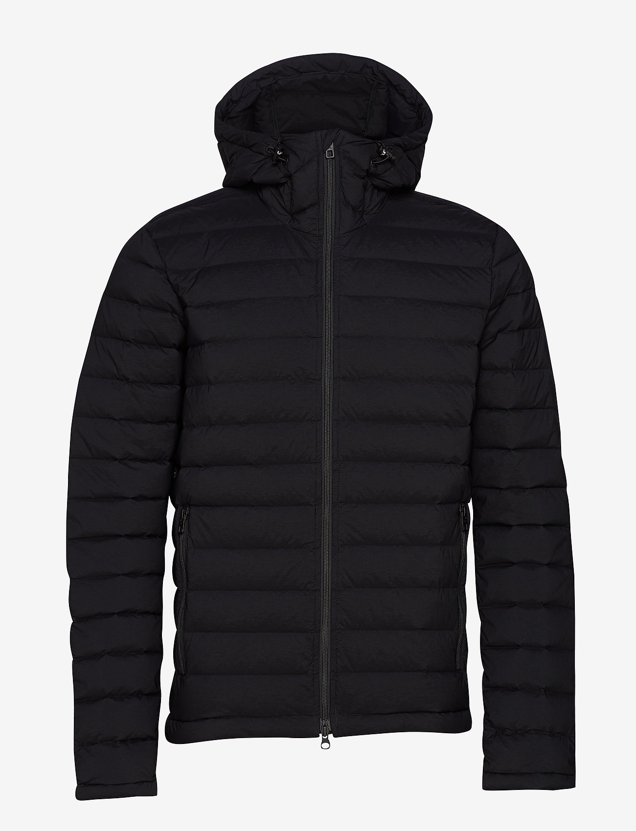 J. Lindeberg Ski - M Ease Hooded Liner-JL Down - untuvatakit - black