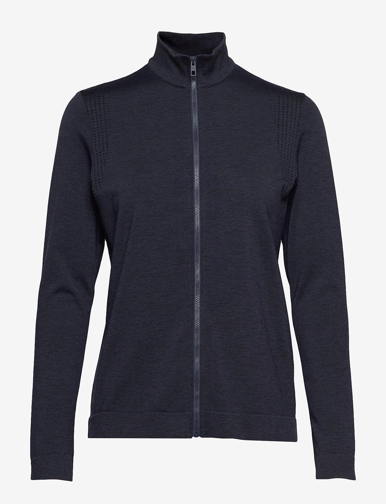 J. Lindeberg Ski - Gamon-Seamless Mid - sweatshirts - navy melange - 0