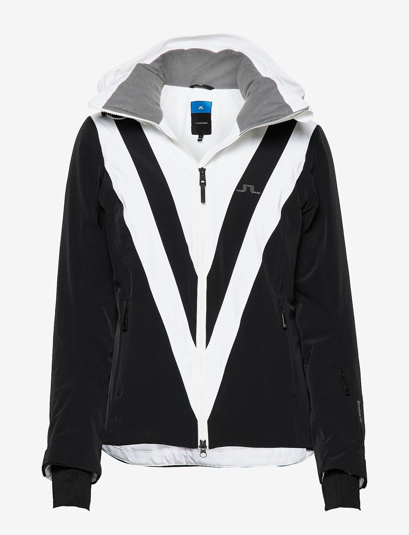 J. Lindeberg Ski - W Wrangell Jkt-Dermizax EV 2L - insulated jackets - black - 0