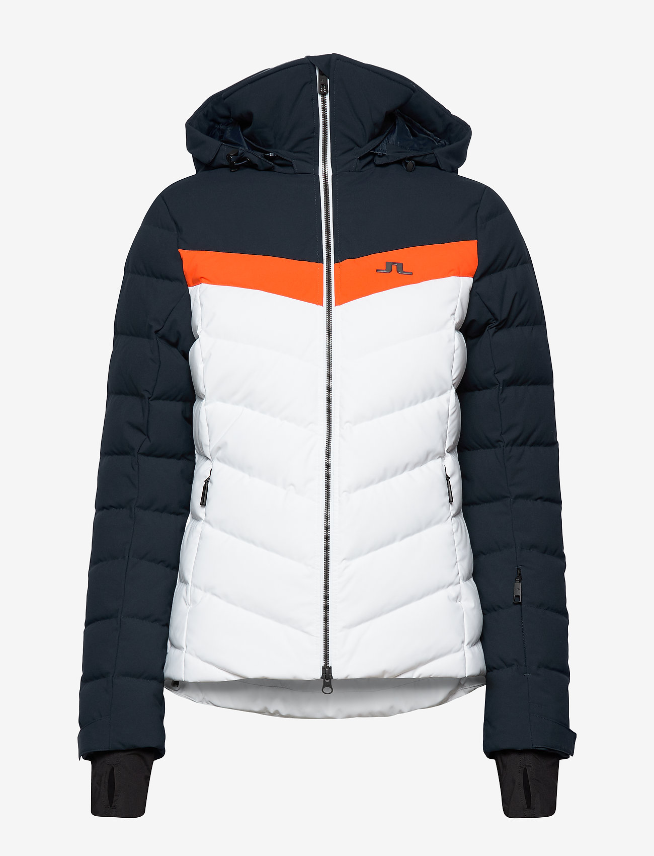 J. Lindeberg Ski W Russel Down Jkt-jl 2l - Jackor & Kappor Juicy Orange