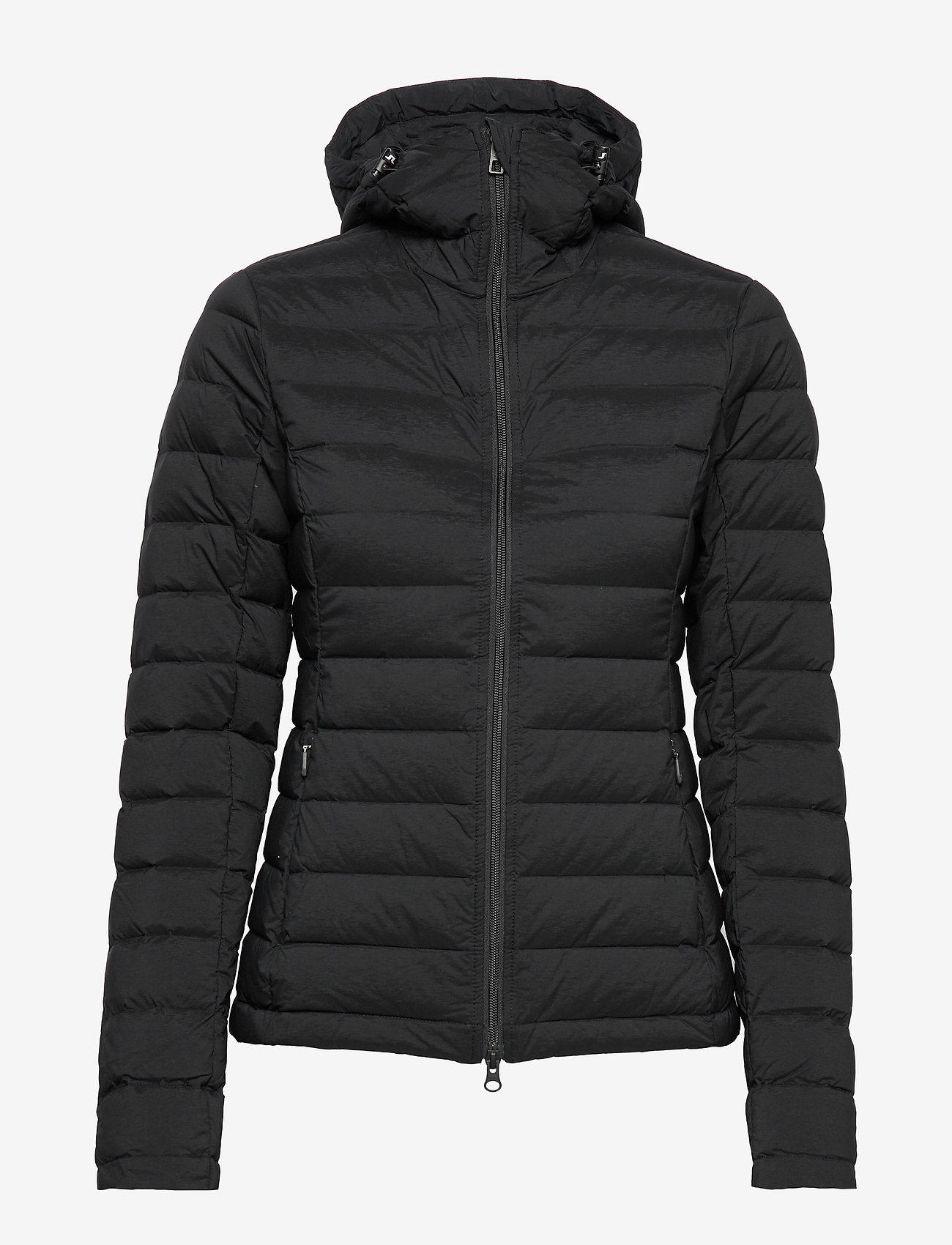W Ease Hooded Liner-jl Down (Black) - J. Lindeberg Ski aqNcOJ