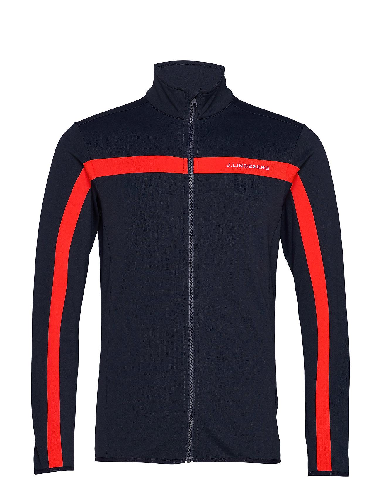 J. Lindeberg Ski Kimball Jarvis Jacket-Brushed - RACING RED