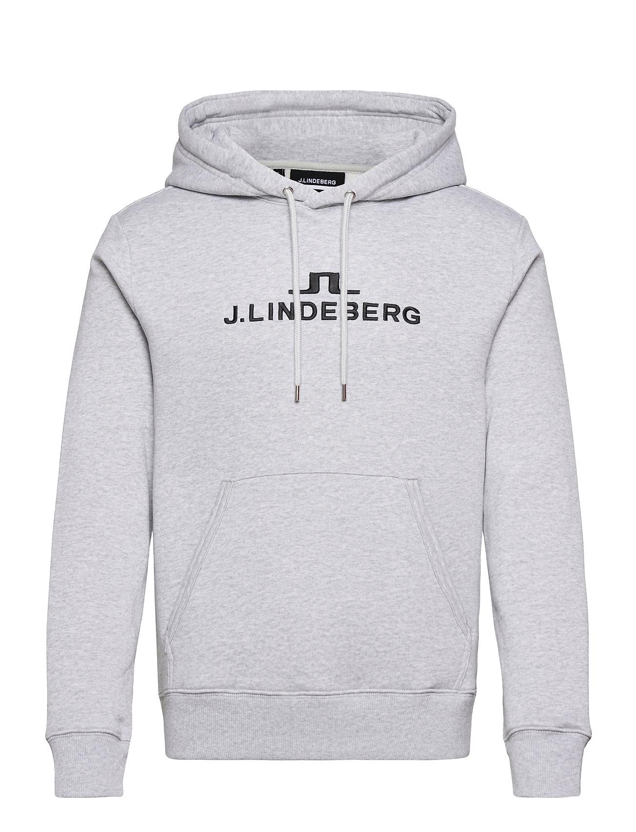 Alpha Hood Hoodie Trøje Grå J. Lindeberg Ski