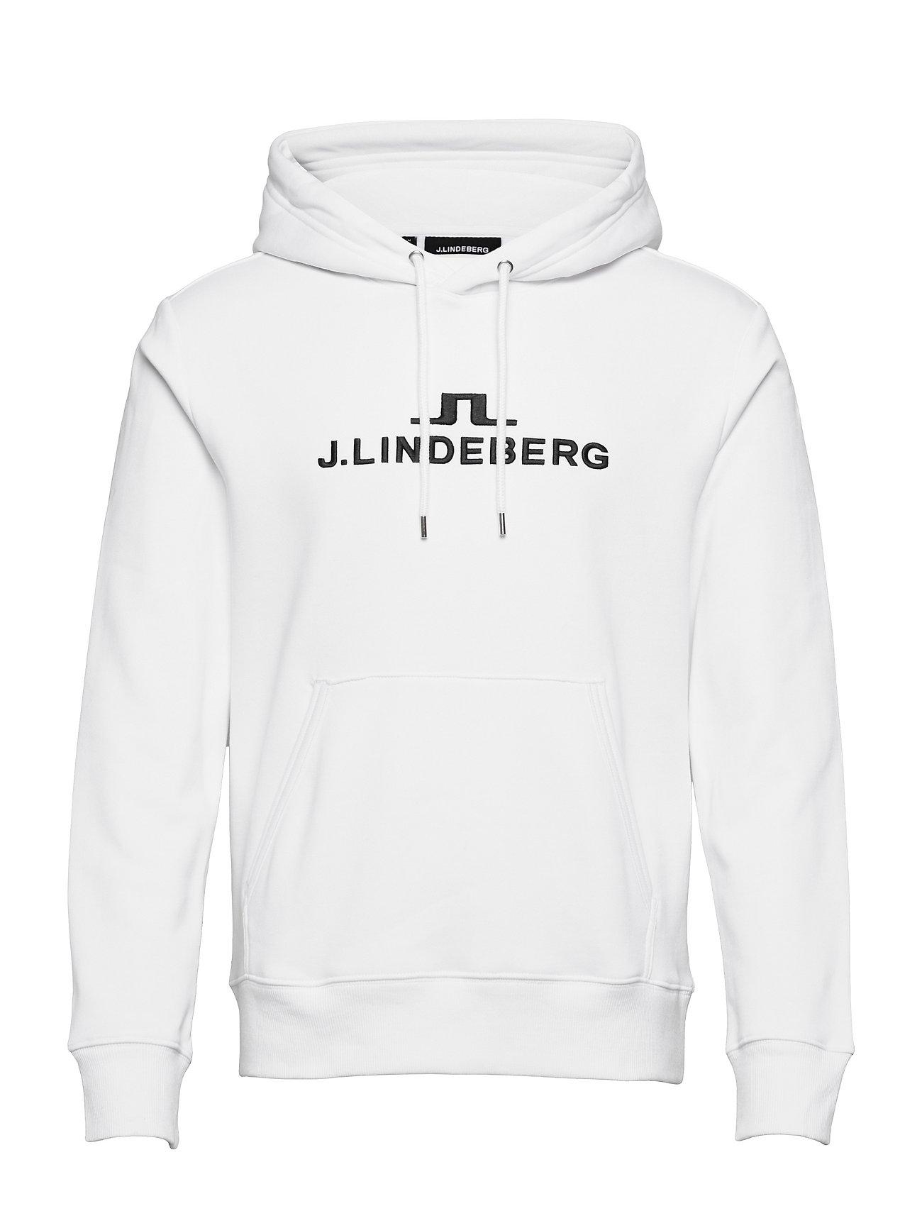 Alpha Hood Hoodie Trøje Hvid J. Lindeberg Ski