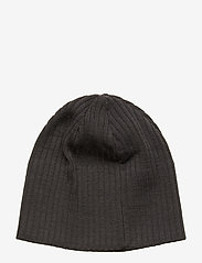 J. Lindeberg Ski - Achieve Hat-Wool Blend - pipot - asphalt black - 1