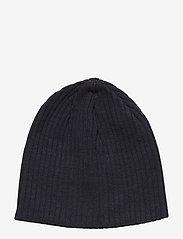 J. Lindeberg Ski - Achieve Hat-Wool Blend - beanies - jl navy - 1