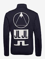 J. Lindeberg Ski - Nigel Mid Jkt Logo Capsule-Tec - sweatshirts - jl navy - 1