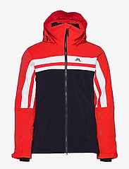J. Lindeberg Ski - M Hayes Jkt-Dermizax EV 2L - insulated jackets - racing red - 1