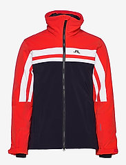 J. Lindeberg Ski - M Hayes Jkt-Dermizax EV 2L - insulated jackets - racing red - 2