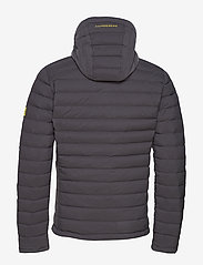 J. Lindeberg Ski - M Ease Hooded Liner-JL Down - down jackets - asphalt black - 2