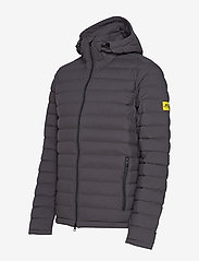 J. Lindeberg Ski - M Ease Hooded Liner-JL Down - down jackets - asphalt black - 3