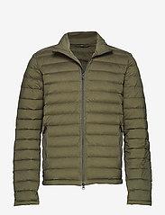 J. Lindeberg Ski - M Ease Sweater-JL Down - ski jackets - forest green - 0
