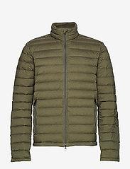 J. Lindeberg Ski - M Ease Sweater-JL Down - ski jackets - forest green - 1