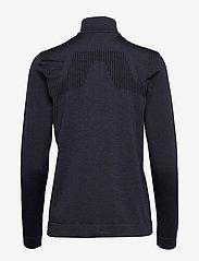 J. Lindeberg Ski - Gamon-Seamless Mid - sweatshirts - navy melange - 1