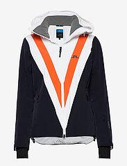 J. Lindeberg Ski - W Wrangell Jkt-Dermizax EV 2L - insulated jackets - juicy orange - 0
